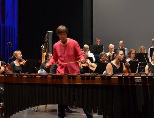 Die Marimba kann sogar singen